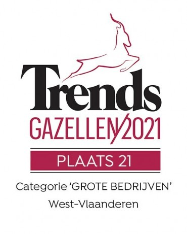 Trends Gazellen 2021: Plaats 21!